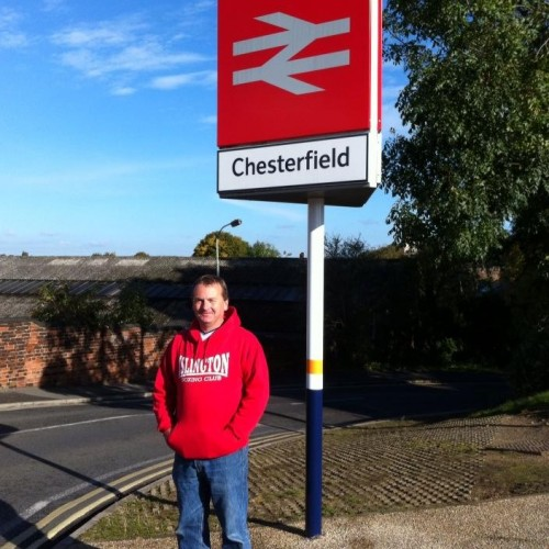 Ronan Smith in Chesterfield