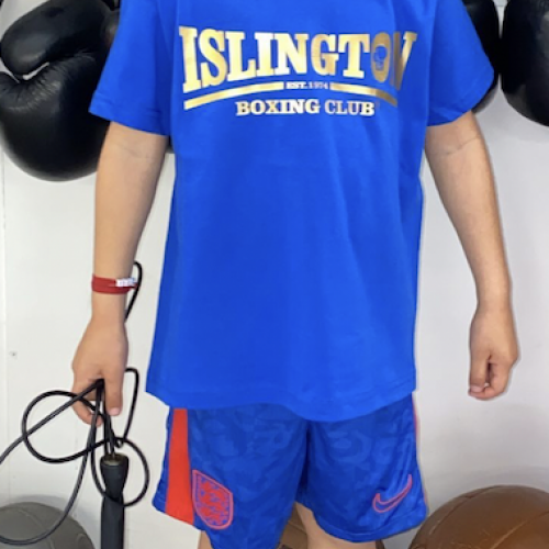 Valentino in a custom IBC t-shirt