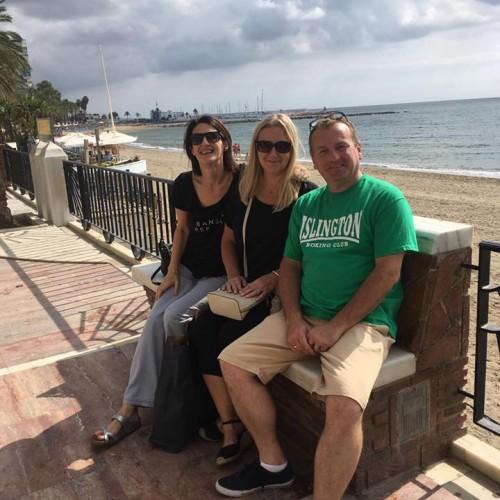 Ronan Smith in Marbella