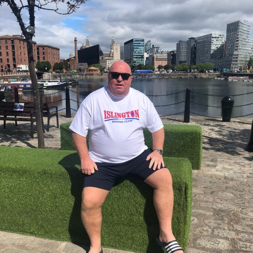 Lenny Hagland in Liverpool