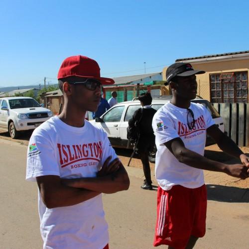 Scott Smart & Jeff Ofori in South Africa