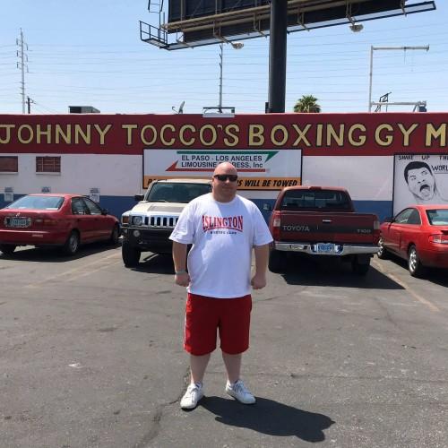 Reggie Hagland in Las Vegas