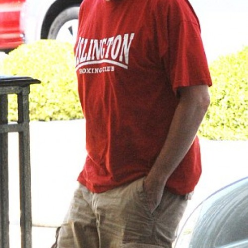 Hugh Laurie (Papped in USA)