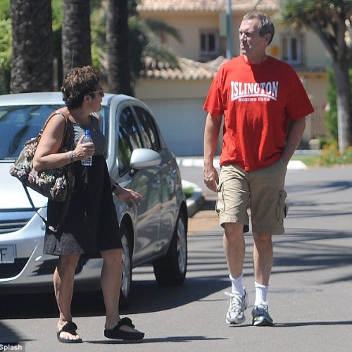 Hugh Lauri (Papped in USA)