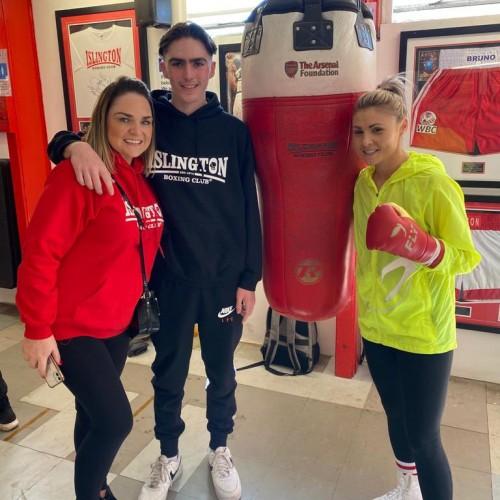 Anna, Bobby Moore and Shannon Courtenay