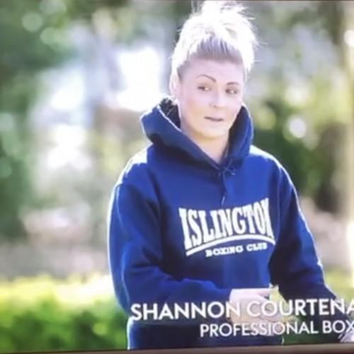 Shannon Courtenay on TV